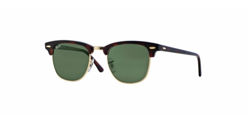 Ray-Ban Clubmaster RB3016 W0366 Mock Tortoise/Arista