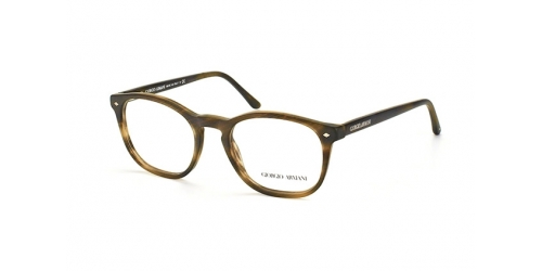 Giorgio Armani AR 7074 5405 STRIPED MATTE DARK BROWN
