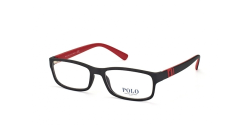 Polo Ralph Lauren PH 2154 5247 MATTE BLACK/RED