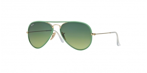 Ray-Ban AVIATOR LARGE RB3025JM Ray-Ban RB 3025JM 001/3M Green