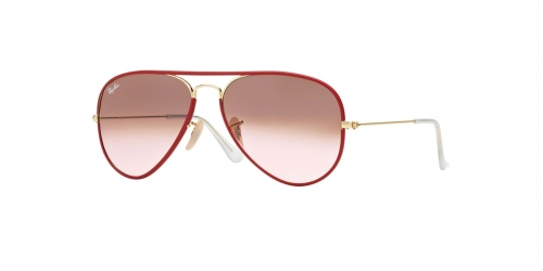 Ray-Ban AVIATOR LARGE RB3025JM RB 3025JM 001/X3 Red