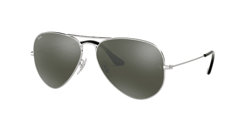 AVIATOR LARGE RB3025 AVIATOR LARGE RB 3025 W3277 Silver