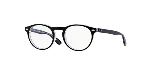 Ray-Ban RX5283 2034 Black on Transparent