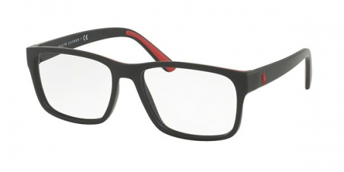 Polo Ralph Lauren PH 2172 5001 MATTE BLACK RUBBER RED