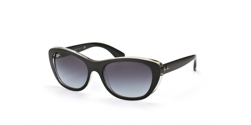 Ray-Ban RB 4227 60528G Top Black on Transparent