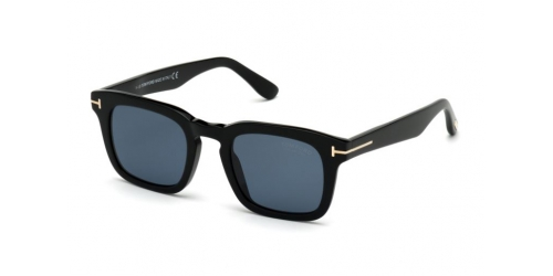 Tom Ford TF0751 01V Shiny Black/Blue