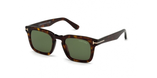Tom Ford TF0751 52N Dark Havana/Green