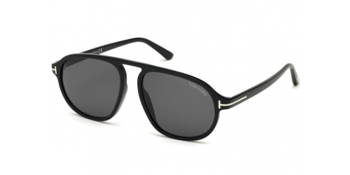 Tom Ford TF0755 01A Shiny Black/Smoke