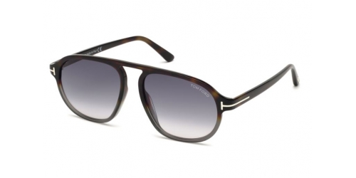 Tom Ford TF0755 55B Coloured Havana/Gradient Smoke