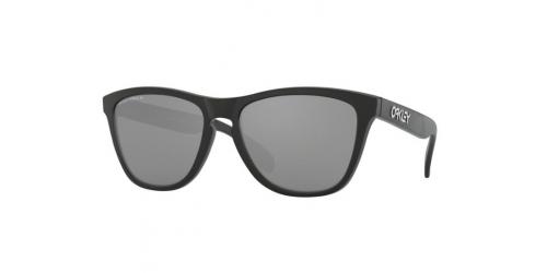 Oakley Frogskin OO9013 9013F7 Matte Black Polarized