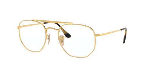 Ray-Ban The Marshal RX3648V RX 3648V 2500 Gold