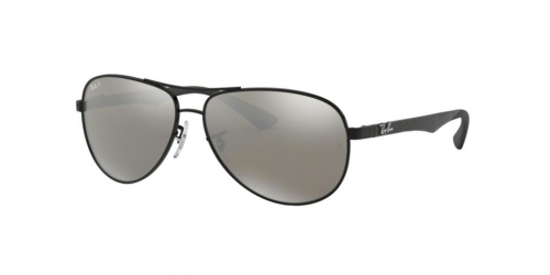 Ray-Ban CARBON FIBRE RB8313 002/K7 Shiny Black Polarized