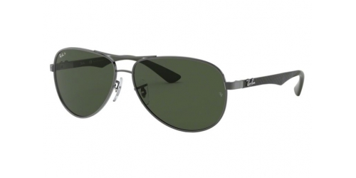 CARBON FIBRE RB8313 CARBON FIBRE RB 8313 004/N5 Shiny Gunmetal Polarized