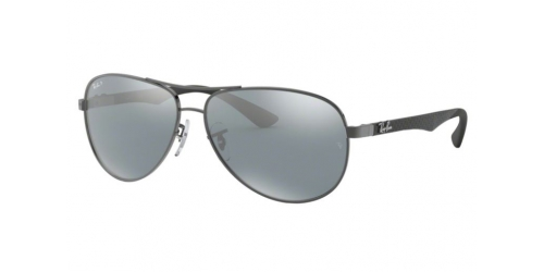 CARBON FIBRE RB8313 CARBON FIBRE RB 8313 004/K6 Shiny Gunmetal Polarized