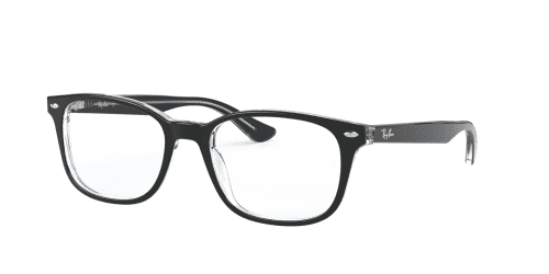 Ray-Ban Ray-Ban RX5375 2034 Top Black on Transparent