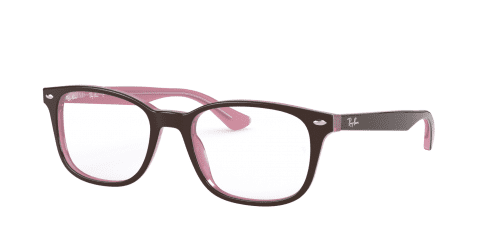 Ray-Ban Ray-Ban RX5375 2126 Top Brown on Opal Pink