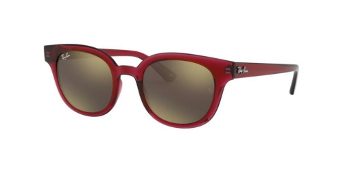 Ray-Ban RB4324 645193 Transparent Red