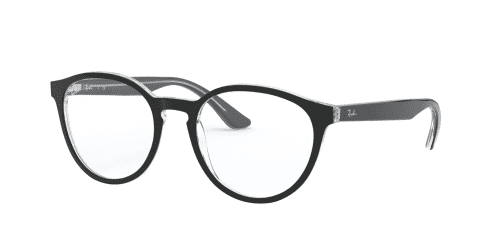Ray-Ban RX5380 2034 Top Black on Transparent