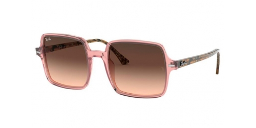 Ray-Ban SQUARE II RB1973 1282A5 Transparent Pink
