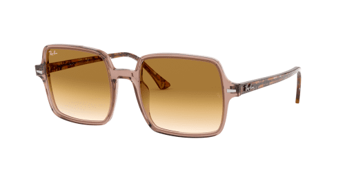 Ray-Ban Ray-Ban SQUARE II RB1973 128151 Transparent Light Brown