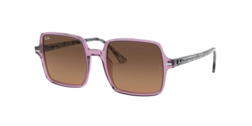 Ray-Ban SQUARE II RB1973 128443 Transparent Violet