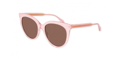 Gucci SEASONAL ICON GG0565S GG 0565S 004 Transparent Pink