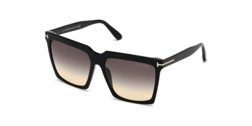 Tom Ford Tom Ford SABRINA-02 TF0764 01B Shiny Black