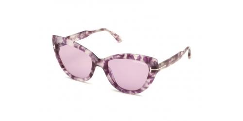 Tom Ford ANYA TF0762/S TF 0762/S 56Y Havana Pink/Violet