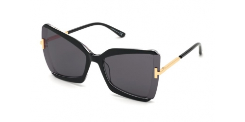 Tom Ford GIA TF0766 03A Black/Crystal