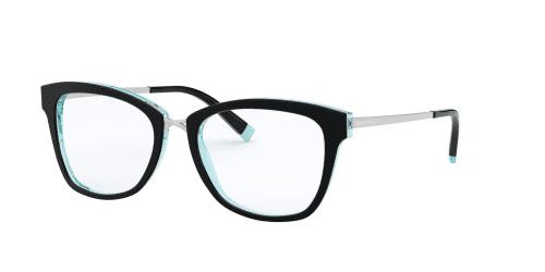 Tiffany TF2186 8274 Black/Crystal Blue