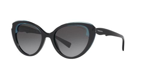 Tiffany TF4163 82793C Crystal Blue on Black