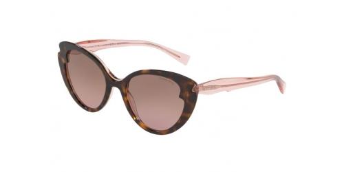 Tiffany TF4163 82909T Havana on Transparent Pink