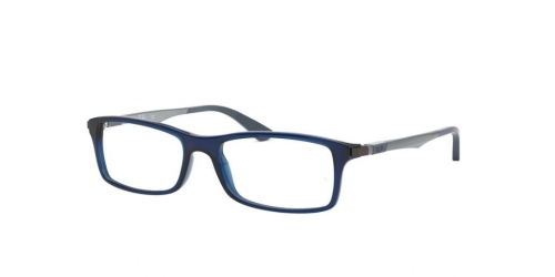 Ray-Ban RX7017 5752 Transparent Blue
