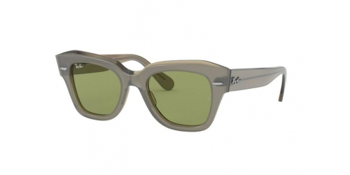 Ray-Ban STATE STREET RB2186 12934E Transparent Beige