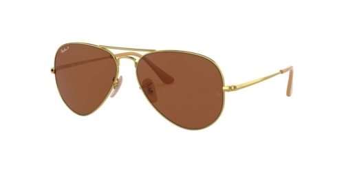 AVIATOR METAL II RB3689 AVIATOR METAL II RB 3689 906447 Gold Polarized