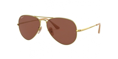 AVIATOR METAL II RB3689 AVIATOR METAL II RB 3689 9064AF Gold Polarized