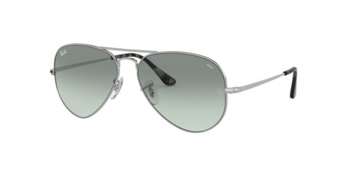 Ray-Ban AVIATOR METAL II RB3689 9149AD Silver