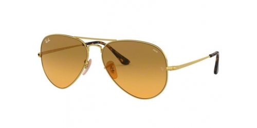AVIATOR METAL II RB3689 AVIATOR METAL II RB 3689 9150AC Gold