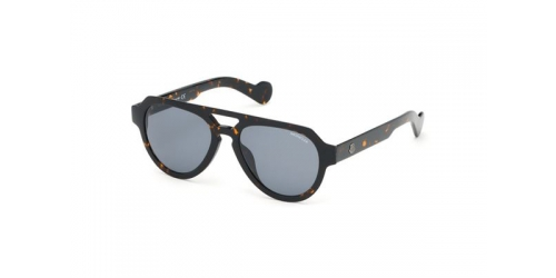 Moncler ML0094 52A Dark Havana / Smoke