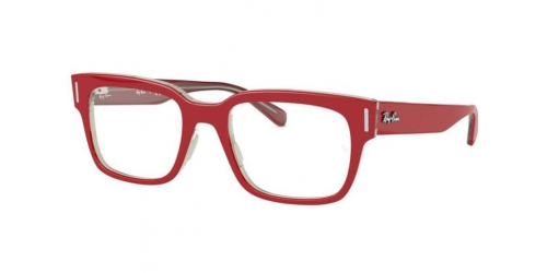 Ray-Ban RX5388 5987 Red on Transparent