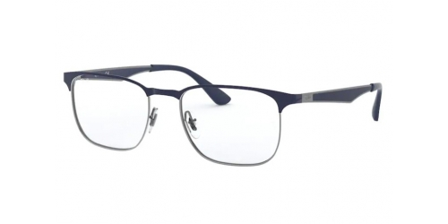 Ray-Ban Ray-Ban RX6363 2947 Gunmetal on Dark Blue