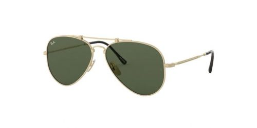 Ray-Ban JAPANESE TITANIUM RB8125 913658 Brushed White Gold