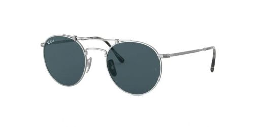 Ray-Ban JAPANESE TITANIUM RB8147M RB 8147M 9165 Silver Polarized