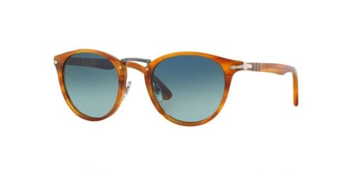 Persol PO3108S PO 3108S 960/S3 Striped Brown Polarized
