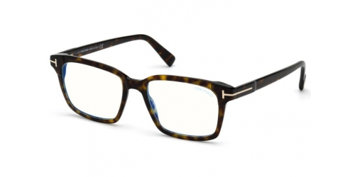 Tom Ford TF5661-B Blue Control TF 5661-B 052 Dark Havana