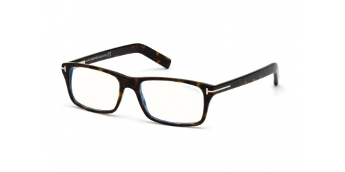 Tom Ford TF5663-B Blue Control TF 5663-B 052 Dark Havana