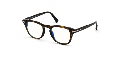 Tom Ford TF5660-B Blue Control TF 5660-B 052 Dark Havana