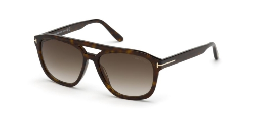 Tom Ford GERRARD TF0776 TF 0776/S 52B Dark Havana