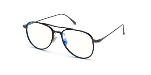 Tom Ford Tom Ford TF5666-B Blue Control TF 5666-B 001 Black
