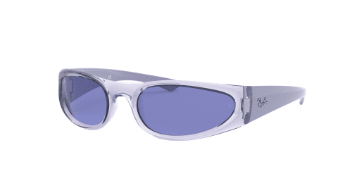Ray-Ban RB4332 648180 Transparent Violet